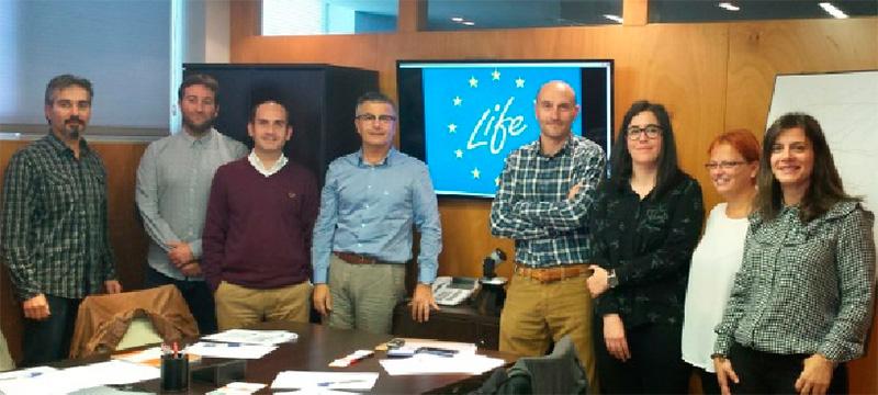 1ª reunión de consorcio del proyecto LIFE DrainRain