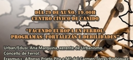 Participation in a seminar about European projects in Ferrol